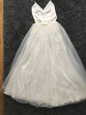 NEU Kaviar Gauche Tüllrock Seidentop Brautkleid Hochzeitskleid