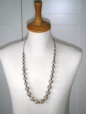 NEU, Kette, lange Kette, Perlenkette, Afican Syle, H&M