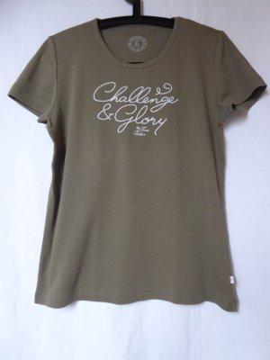 NEU: Khakifarbenes T-Shirt von Tom Tailor