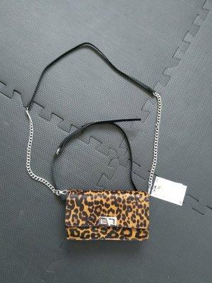 Zara Woman Bolsa de hombro multicolor Cuero