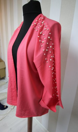 NEU Kimono Jacke Perlen Details