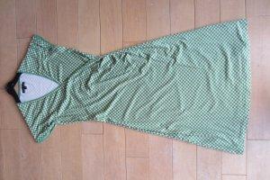 NEU: KING LOUIE STATT DIRNDL - tolles grün-weiß-kariertes Kurzarm-Shirt-Kleid S