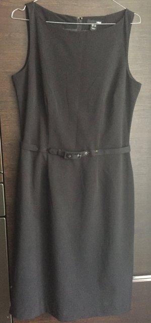 Neu: Klassisches Kleid Business mit Gürtel