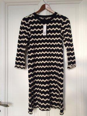NEU Kleid in 34 von WAREHOUSE, schwarz-weiß