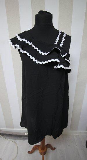 Tunic Dress black-white