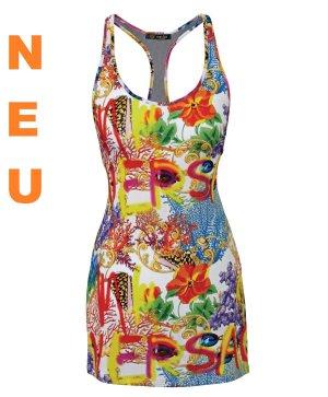 NEU Kleid VERSACE BEACHWEAR Glamour pur! Gr.L LP 259 €uro