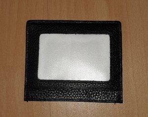 NEU: kleines Kartenmäppchen schwarz