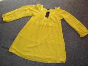 NEU: Knallgelbes hochwertiges Seidenkleid von SLY 010, Größe 40