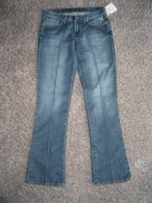 NEU KOOKAI Jeans blau Gr. 36 38 France faded bootcut destroyed