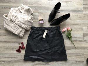 Esprit Rok van imitatieleder zwart