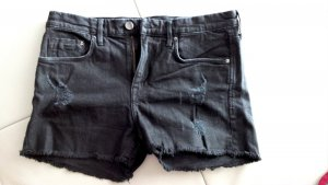 H&M Denim Shorts black cotton