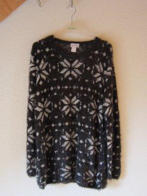 NEU: Kuscheliger Pullover mit Norwegermuster - Größe 52