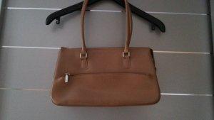 NEU! L.Credi Handtasche, beige / braun