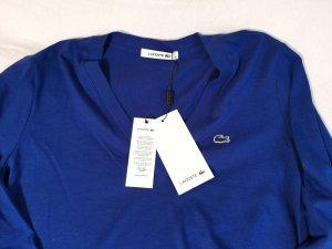 NEU Lacoste Langarmshirt blau Gr. 40