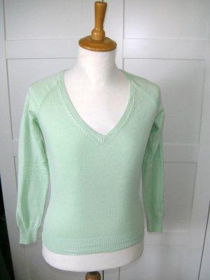 neu, Langarmshirt, Shirt, apfelgrün, Zara, Gr. S