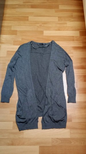 NEU langer Damen Cardigan in grau Gr. 36 von Atmosphere