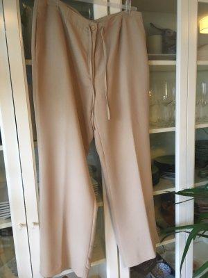Neu – Laura Clement Collection – Beigefarbene Hose