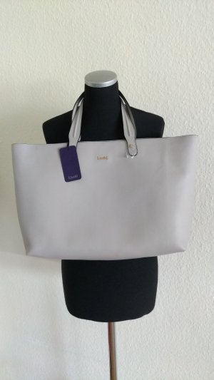 Laurèl Borsa shopper grigio chiaro