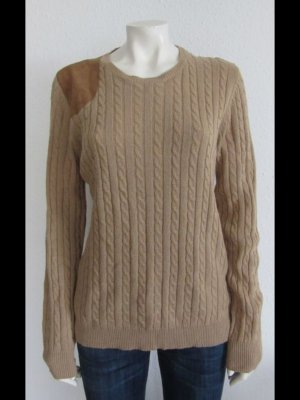 Lauren by Ralph Lauren Cable Sweater brown