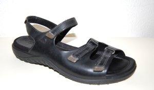 NEU - Leder Riemchen - Sandale - schwarz von ECCO - Gr. 39