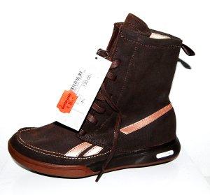 NEU - Leder - Sportschuh - Sneaker high - braun Reebok Easytone - Gr. 37,5/ UK4,5