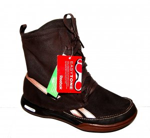 NEU Leder Sportschuh Sneaker - high von Reebok Gr.37,5