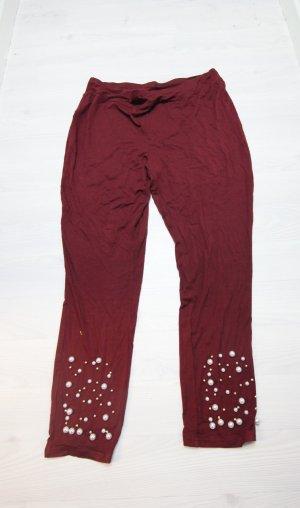 NEU Leggings Hose mit Perlen