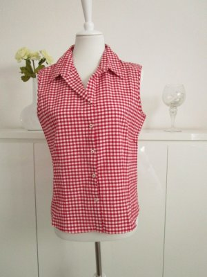 My Own Crash Blouse white-red