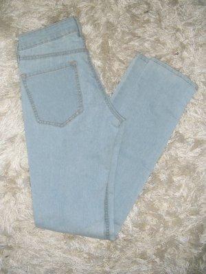 NEU, leichte Jeans, Röhre, Röhrenjeans, Röhrenhose, Skinny, hellblau, Gr. 26,H&M