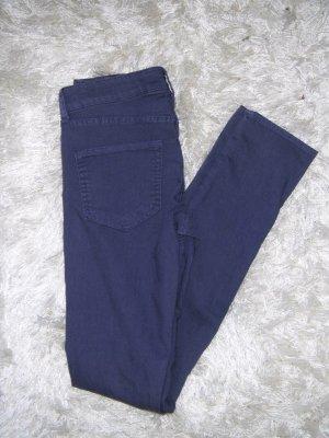 NEU, leichte Jeans, Stretchjeans, Röhre, Röhrenhose, Skinny, H&M, lila, Gr. 36