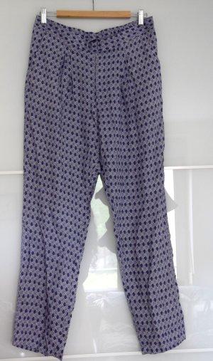 NEU! Leichte Sommerhose von H&M Größe M / blau gemustert