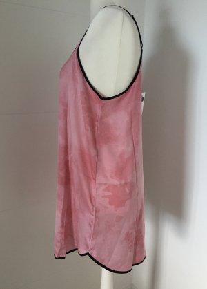 DKNY Pigiama nero-rosa chiaro Poliestere