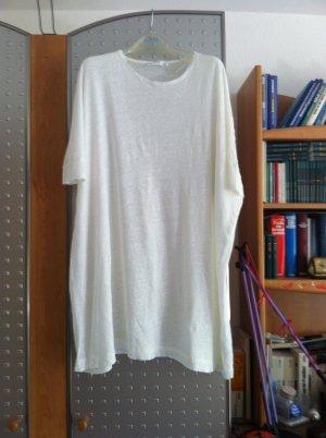Zara Haut long blanc lin