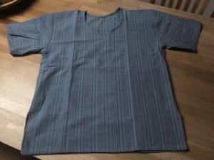 Shirt met korte mouwen leigrijs