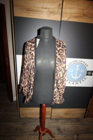 Kimono Blouse black-brown