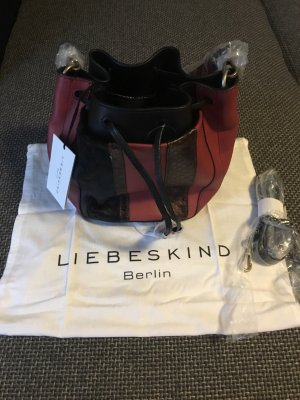 Liebeskind Berlin Borsellino nero-bordeaux