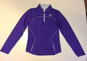 Neu Lila Sport Sweatshirt in der Größe 34