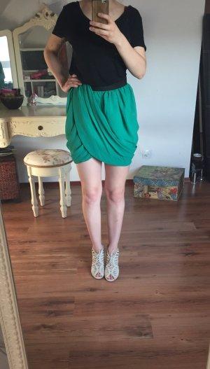 NEU Limited H&M Rock grün Business Party Rock skirt S 36 38 34 high waist rise