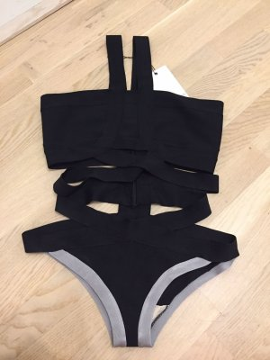 Little Mistress Swimsuit black-light grey