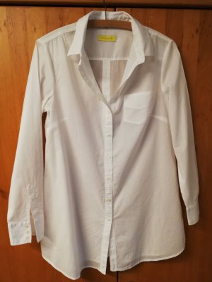 Witty Knitters Blusa larga blanco