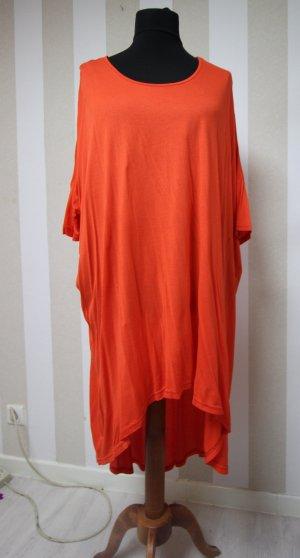 Vestido tipo túnica naranja