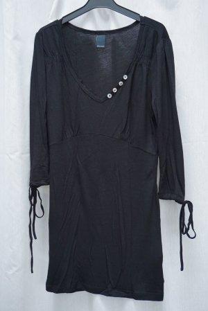 NEU: Longshirt Vero Moda, schwarz, Gr S, Knöpfe, NP 30€
