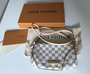 Louis Vuitton Gekruiste tas wit-zilver