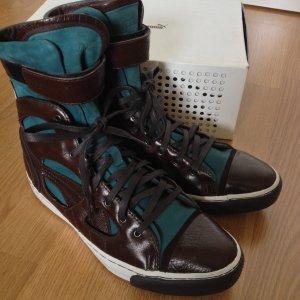 NEU Luxus PUMA x Alexander McQueen Sneakers Blogger Boots 38 Echtleder