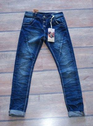 Tube Jeans dark blue cotton