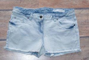 neu!! M 38 ♥ schönste Jeans Hotpants ♥ Shorts Stretch Used-Look