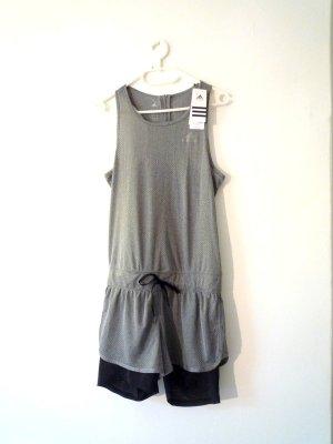 NEU m. Etikett *Adidas* Women Running Cool Jumpsuit, grau