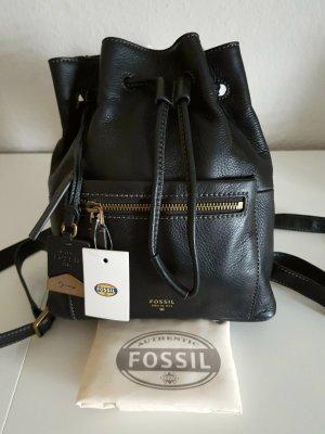 Neu m. Etikett - Fossil Rucksack/Bucket, echtes Leder