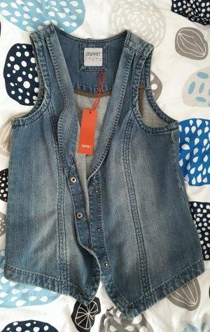 Neu m. Etikett - Jeansweste von Esprit- gr. L Np: 59.95€