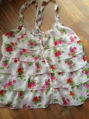 Neu M Hollister Blumen Surf Blumen Top Bluse